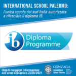 International School Palermo riconosciuta IB World School accreditata rilascio del Diploma IB